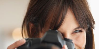 Photographer, Finger, Hairstyle, Lens, Digital camera, Photograph, Cameras & optics, Camera lens, Camera accessory, Nail,