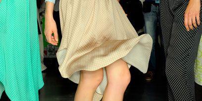Clothing, Footwear, Leg, Green, Yellow, Brown, Human leg, Textile, Shoe, Joint,