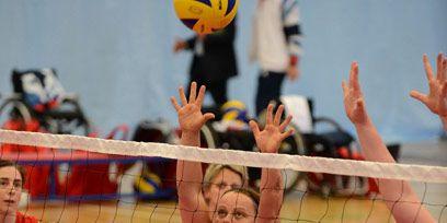 Sports uniform, Net sports, Fun, People, Team sport, Volleyball net, Sports equipment, Ball game, Volleyball, Volleyball player,