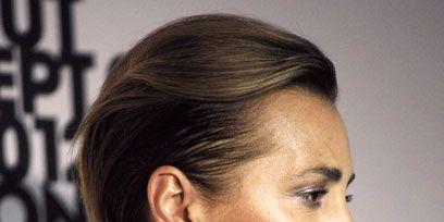 Head, Ear, Lip, Cheek, Hairstyle, Chin, Forehead, Eyebrow, Collar, Eyelash,