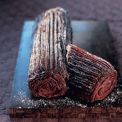 Mary Berrys Christmas Chocolate Log