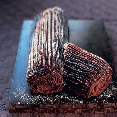 yule log form Mary Berry