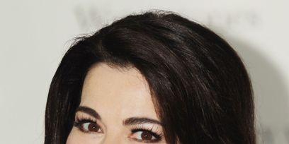 Nose, Lip, Cheek, Smile, Mouth, Brown, Hairstyle, Eye, Skin, Chin,