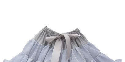 White, Grey, Beige, Ruffle, Natural material, Silver, Embellishment, Day dress,