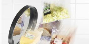 Product, Plastic, Produce, Ingredient, Waste container, Cylinder, Plastic bag, Waste containment, Label, Fruit,