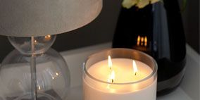 Lighting, Wax, Photograph, White, Candle, Glass, Flame, Light, Lighting accessory, Fire,