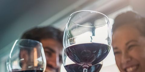 Stemware, Glass, Drinkware, Wine glass, Drink, Barware, Alcoholic beverage, Alcohol, Hand, Dessert wine,