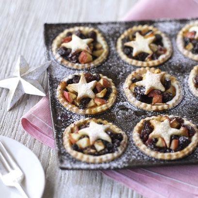 Apple and mincemeat pies