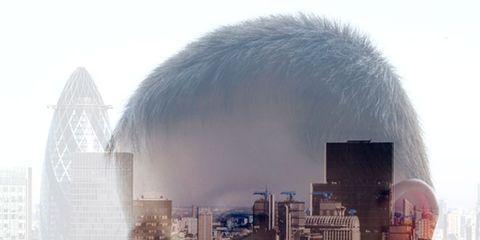 Atmospheric phenomenon, World, Cityscape, Tower block, Metropolis, Urban design, Illustration, Reflection, Downtown, Haze,