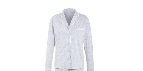 Product, Collar, Dress shirt, Sleeve, Textile, Coat, Blazer, Pattern, Button, Grey,