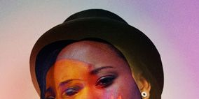 Nose, Lip, Chin, Eyebrow, Hat, Style, Headgear, Costume accessory, Fashion, Temple,