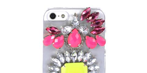 Pink, Magenta, Purple, Violet, Teal, Aqua, Portable communications device, Gadget, Communication Device, Metal,