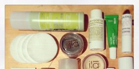 Liquid, Product, Brown, Green, Fluid, Tints and shades, Beauty, Cosmetics, Beige, Peach,