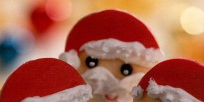 Food, Ingredient, Fictional character, Dessert, Holiday, Lollipop, Confectionery, Santa claus, Frozen dessert, Christmas,