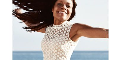 Clothing, Fun, Hairstyle, Skin, Sleeve, Shoulder, Textile, Dress, Photograph, Joint,