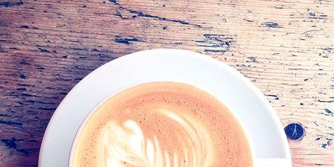 Cup, Serveware, Drinkware, Coffee cup, Espresso, Flat white, Drink, Single-origin coffee, Caffè macchiato, Coffee,