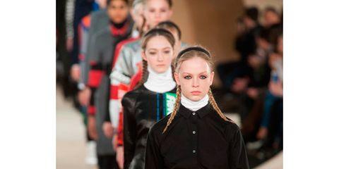 Sleeve, Street fashion, Fashion, Waist, Uniform, Fashion design, Fashion model, Belt, Costume design, Pocket,