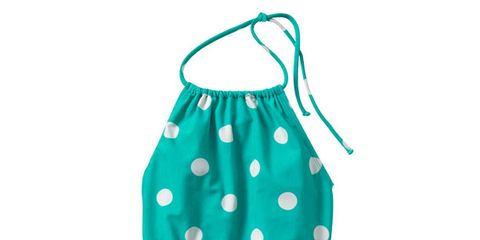 Pattern, Aqua, Teal, Turquoise, Peach, One-piece garment, Day dress, Pattern,