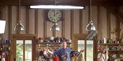 Lighting, Interior design, Light fixture, Glass, Interior design, Chandelier, Stool, Wall clock, Ornament, Shelf,