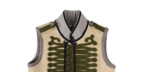 Brown, Product, Collar, Beige, Symmetry, Leather, Folk instrument, Vest,