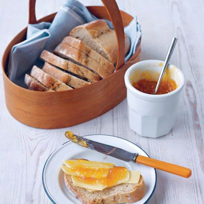 Scalded rye bread