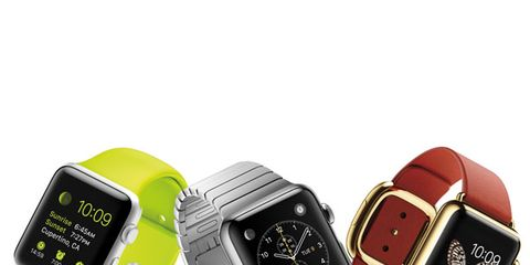 Electronic device, Product, Watch, Red, Technology, Gadget, Font, Watch accessory, Display device, Rectangle,