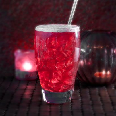 Drink, Red, Woo woo, Non-alcoholic beverage, Highball glass, Italian soda, Cranberry juice, Alcoholic beverage, Punch, Juice,