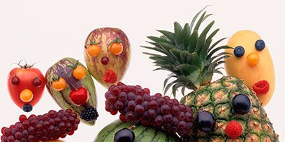 Produce, Orange, Fruit, Food group, Natural foods, Pineapple, Creative arts, Accessory fruit, Ananas, Button,