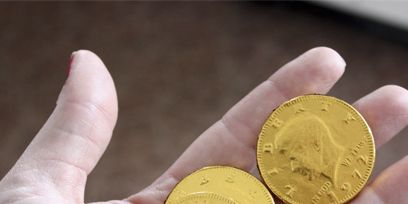 Finger, Yellow, Money, Currency, Coin, Metal, Brass, Money handling, Circle, Saving,