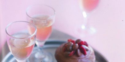 Cupcake, Glass, Serveware, Food, Dishware, Tableware, Drink, Stemware, Sweetness, Dessert,