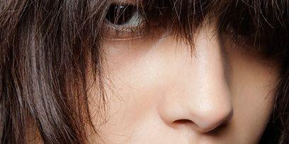 Lip, Cheek, Mouth, Brown, Hairstyle, Skin, Chin, Forehead, Eyelash, Eyebrow,