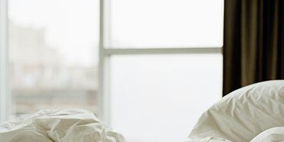 Room, Bedding, Textile, Interior design, Bedroom, Bed, Bed sheet, Linens, Comfort, Duvet,