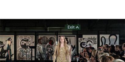 Fashion show, Runway, Fashion, Street fashion, Fashion model, Model, Fashion design, Costume design, Haute couture, Military camouflage,