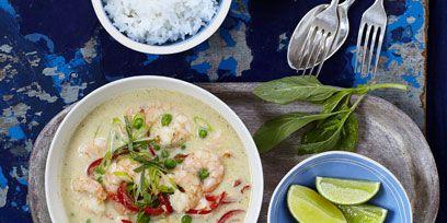 Prawn Green Curry