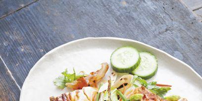 Food, Ingredient, Plate, Cuisine, Dishware, Dish, Tableware, Recipe, Fines herbes, Serveware,
