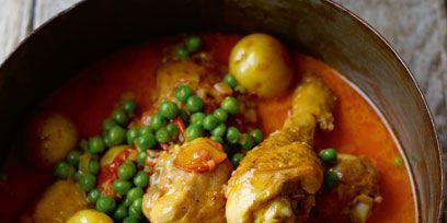 Dish, Food, Cuisine, Ingredient, Curry, Meat, Produce, Caldo de pollo, Navarin, Chicken meat,