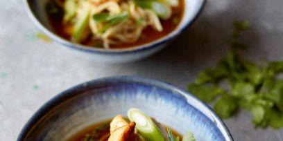Food, Soup, Cuisine, Ingredient, Noodle, Dish, Tableware, Noodle soup, Produce, Recipe,