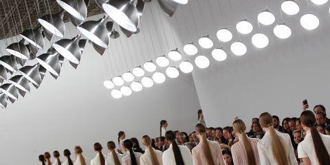 Light fixture, Hall, Fashion design, Gown, Musical ensemble, Gospel music,