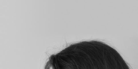 Hairstyle, Style, Beauty, Long hair, Day dress, Black-and-white, Portrait, Fashion design, Portrait photography, Embellishment,