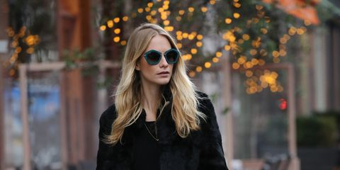 Clothing, Brown, Textile, Sunglasses, Photograph, Joint, Outerwear, Bag, Street fashion, Style,