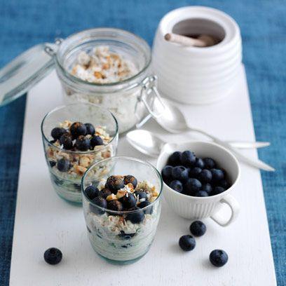 Food, Cuisine, Dish, Meal, Breakfast, Breakfast cereal, Ingredient, Parfait, Vegetarian food, Dessert,