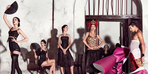 Dress, Style, Fashion, Youth, Magenta, One-piece garment, Fashion design, Waist, Day dress, Fashion model,