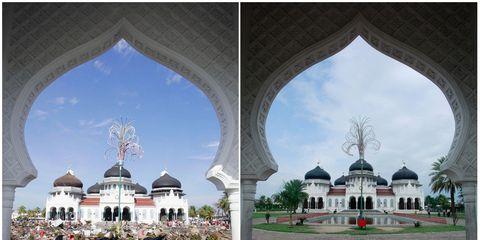 Architecture, Dome, Landmark, Arch, Dome, Byzantine architecture, Arcade, Historic site, Column, Classical architecture,