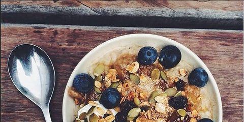 Food, Ingredient, Dishware, Tableware, Produce, Cuisine, Kitchen utensil, Cutlery, Breakfast cereal, Serveware,