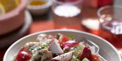 Serveware, Food, Cuisine, Salad, Dishware, Tableware, Ingredient, Dish, Recipe, Barware,