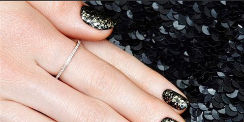 Finger, Skin, Nail care, Nail, Nail polish, Manicure, Style, Liquid, Black, Grey,