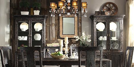 Room, Furniture, Interior design, Chair, Table, Interior design, Hardwood, Picture frame, Wall clock, Dining room,