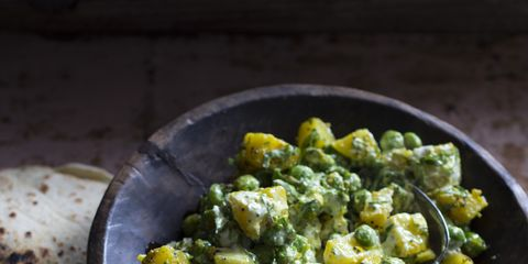 Potato Salad With Peas And Persian Spices Recipe
