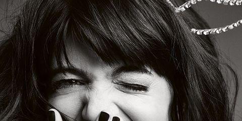 Finger, Lip, Eyelash, Style, Nail, Beauty, Black hair, Tooth, Portrait, Long hair,