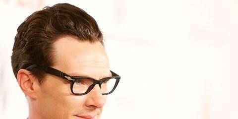 Clothing, Eyewear, Glasses, Ear, Vision care, Coat, Dress shirt, Collar, Chin, Forehead,